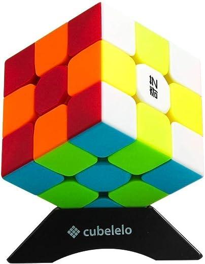 Cubelelo QiYi Warrior 3x3 Stickerless Speedcube Puzzle