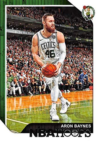 2018-19 NBA Hoops Basketball #156 Aron Baynes Boston Celtics Official Trading Card made by Panini