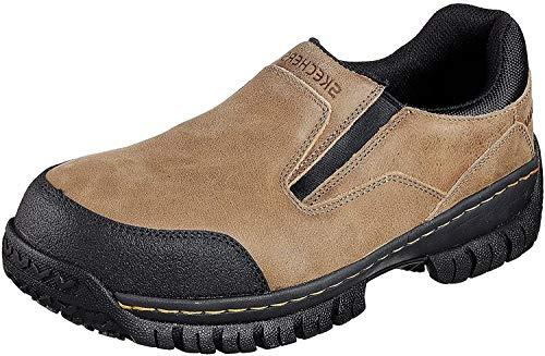 Skechers para el Trabajo de Acero del Dedo del pie Hartan Slip-en el Zapato