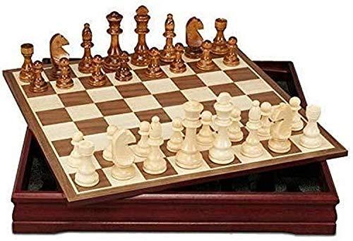 Juego de ajedrez Ajedrez International Ajedrez Patrones de ajedrez Piezas de ajedrez Mesa de Centro de Madera Tablero de ajedrez Profesional Juego de ajedrez