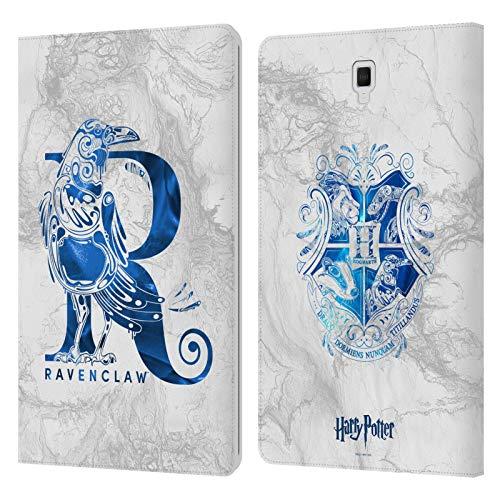 Head Case Designs Ufficiale Harry Potter Ravenclaw Aguamenti Deathly Hallows IX Cover in Pelle a Portafoglio Compatibile con Galaxy Tab S4 10.5 (2018)