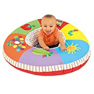 The Galt Playnest takes on a new design with the delightful Very Hungry Caterpillar characters Playnest is a fabric covered inflatable ring that provides a soft resting area and a self-contained play environment for babies and toddlers There are 6 mu...
