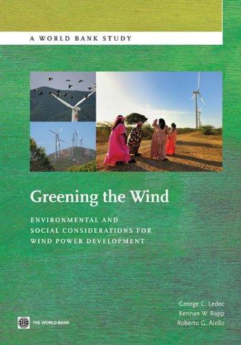 Greening the Wind (World Bank Studies)