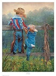 Cowboy Up poster/art print