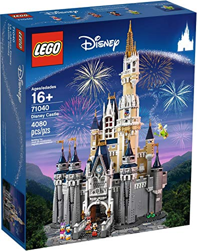 LEGO Exclusives Castillo Disney - Juegos de construcción (Multicolor, 16 año(s), 4080 Pieza(s), 48 cm, 31 cm, 74 cm)