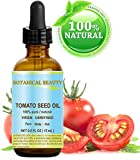 TOMATO SEED OIL. 100% Pure/Natural/Virgin/Undiluted/Cold Pressed for Skin, Hair and Lip Care. 0.5...