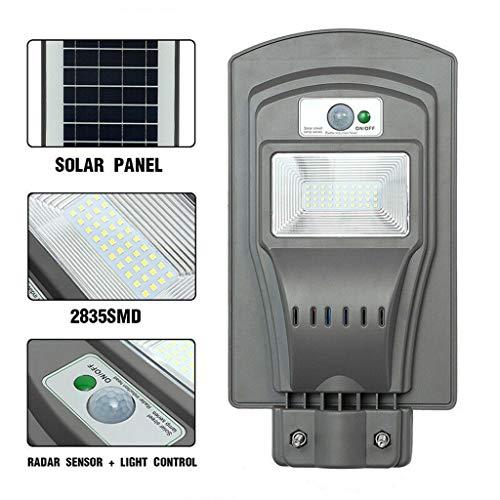 Kecar 20W LED Solar Powered Outdoor Wall Street Light PIR Motion Sensor Lamp, LED Light, Home & Garden, Furniture, Shipping from USA