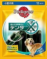 (まとめ買い)マースジャパン ぺディグリー デンタエックス 小型犬用 レギュラー 11本入り 【×8】