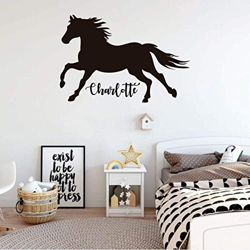 Euro Paint Horse Paints Horse Graphic Decal Sticker Car Wall Oval NOT Two Colors