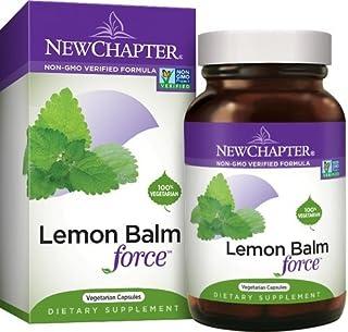 New Chapter Lemon Balm Force, 30 Softgel