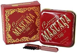 Besame Cosmetics: Cake Mascara - Vintage Mascara - .39 oz - Stays In Place, Mutli-Use, Creates Gorgeous, Defined Lashes