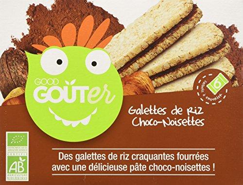 Good Gout Gallette di Riso Cioccolato-Nocciole - Pacco da 12 x 120 g
