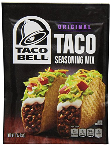 Taco Bell Seasoning Mix Taco (1 oz Packet)
