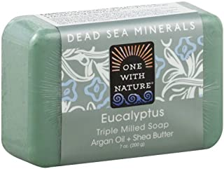 One With Nature Triple Milled Soap Bar - Eucalyptus - 7 oz (Pack of 3)