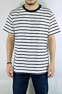ベルバシーン(VELVA SHEEN)161560U UNEVEN BORDER Tシャツ ボーダーポケットTEE S/STEE ポケT 半袖Tシャツ