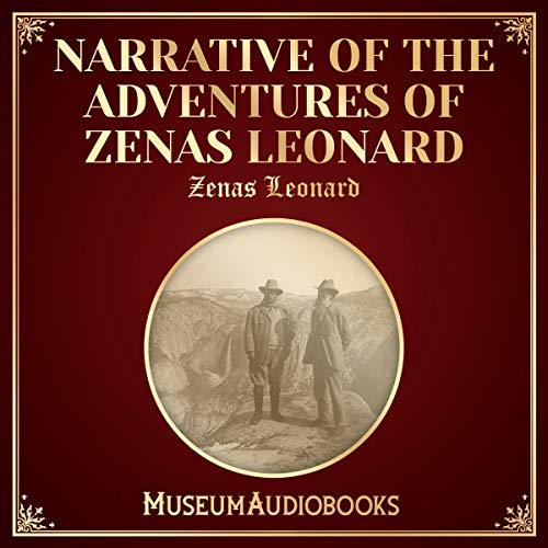 『Narrative of the Adventures of Zenas Leonard』のカバーアート
