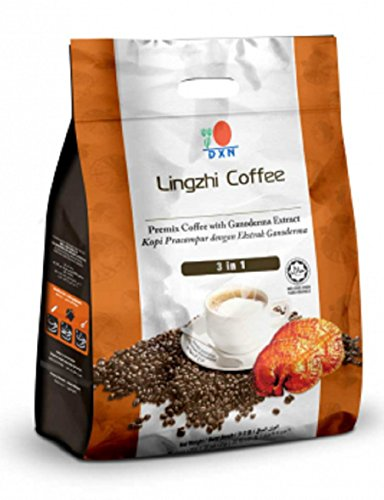 2 Packs DXN Lingzhi 3 in 1 Coffee Ganoderma 20 Sachets