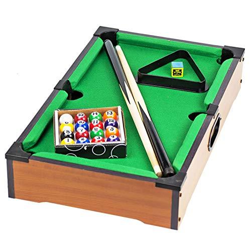 Zyf Mini Mesa de Juegos de Billar, Juegos de Juguetes para Padres Interiores, Mini Juegos Deportivos, cumpleaños (Size : 69×37×17cm)