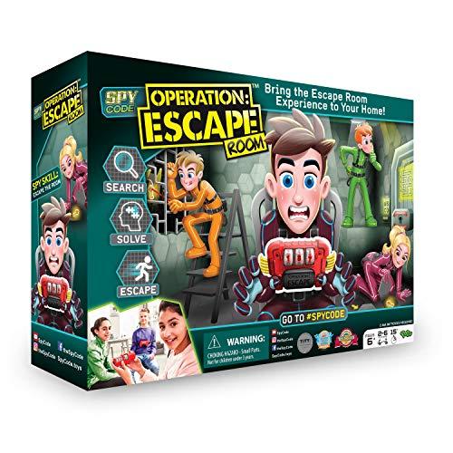 Diset - Operation Escape Room - Juego de mesa infantil a partir de 6 años