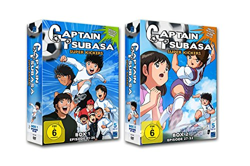 Captain Tsubasa: Super Kickers - Box 1 & 2 (10 DVDs)