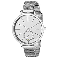 Skagen wrist watch Dial colour: white Band colour: silver Band material: stainless steel Movement: quartz