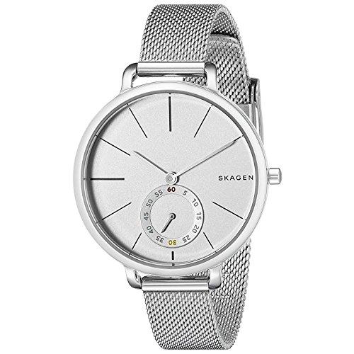 Skagen Damen Analog Quarz Uhr mit Edelstahl Armband SKW2358