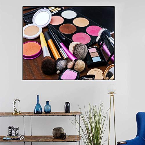 AJleil Puzzle 1000 Piezas Salón de Belleza Arte Perfume cosméticos Pintura Imagen Maquillaje Puzzle 1000 Piezas educa Gran Ocio vacacional, Juegos interactivos familiares50x75cm(20x30inch)