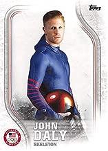 John Daly trading card (USA Olympics, Skeleton) 2018 Topps #USA31