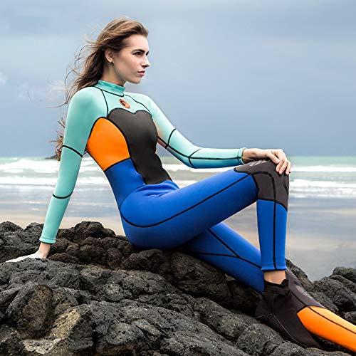 La Mode New Surf Costume, Couverture Complète pour Dames Plongée Costume, De Haute Qualité, Multi-Couleur en Option,B,XS