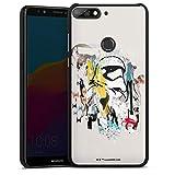 DeinDesign Coque Compatible avec Huawei Honor 7 c Étui Housse Produit sous Licence Officielle Star...
