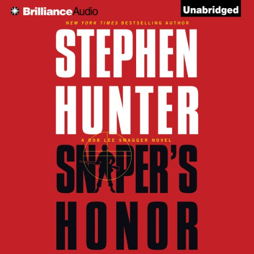 Sniper's Honor audiobook cover art