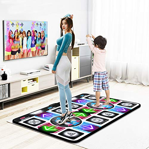 Dance Home Blanket Multifunctional Double Game Machine Treadmill Fitness Yoga mat HD TV Computer Dual-use somatosensory Game Blanket