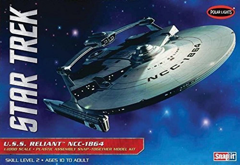 a la venta Polar Lights 1 1000 Scale Estrella Estrella Estrella Trek USS Reliant Model Kit by Polar Lights  A la venta con descuento del 70%.