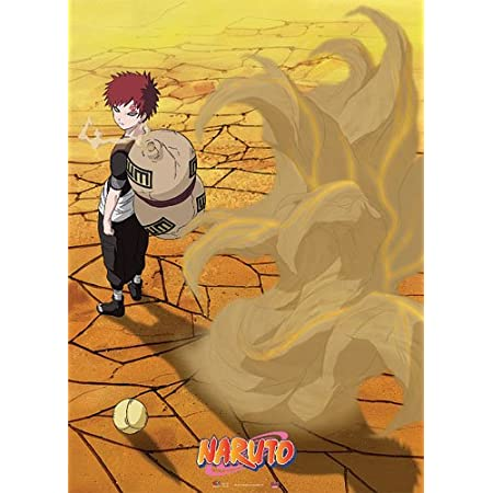 Naruto Gaara Anime Manga Wallscroll Poster Kunstdrucke Bider Drucke