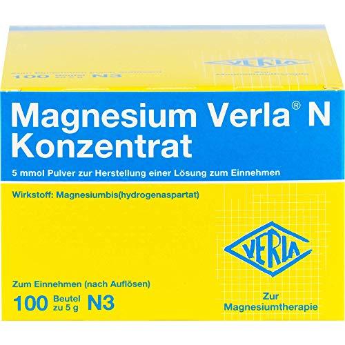 Magnesium Verla N Konzentrat Pulver, 100 St. Beutel