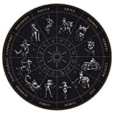 THE UNIVERSAL SIGNS Astrology Horoscope Zodiac Tapestry Decor Wall Hanging (Zodiac Wheel) Blanket Bedspread Beach Towels Picnic Mat Home Decor