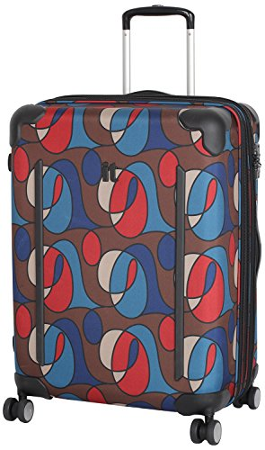 IT Luggage - Maleta Unisex, Wandering Line Print (Varios colores) - 14-1312-08M-MC