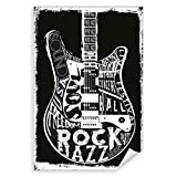 Postereck - 2116 - Gitarre, Musik Rock Jazz Freiheit USA