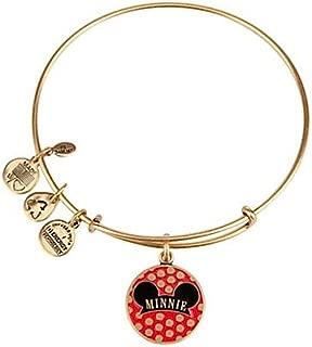 Disney Parks Minnie Mouse Ears Hat Charm Bracelet (Gold finish)