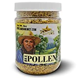 Goshen Honey Amish Extremely Raw BEE POLLEN Whole Granules Bee Bread - 100% Pure Natural Health Benefits - Unfiltered | 8 Oz