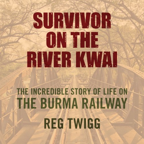 Survivor on the River Kwai audiobook cover art