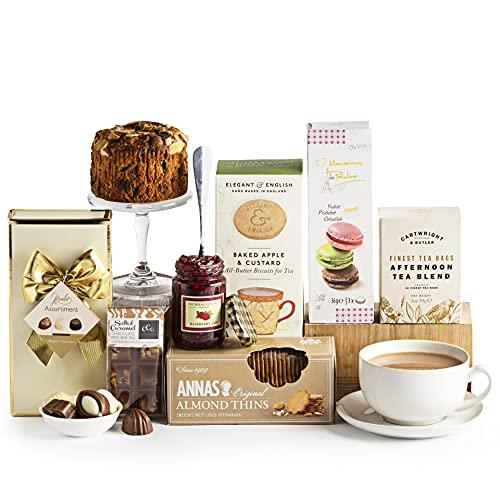 Teatime Delights Hamper, Luxury Food & Afternoon Tea Gift Hampers, Hamper and Gift Baskets