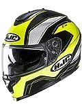 HJC Fluorescent-Green C70 Lianto Motorcycle Helmet