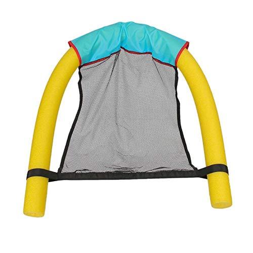 Schwimmender Schwimmstuhl, Schwimmbadespielzeug Für Kinder Kinder Erwachsene - Wasserspielzeug Für Poolspiele Erholung Gelb