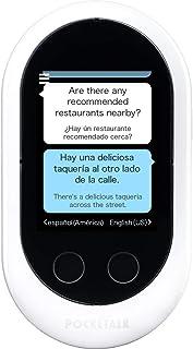 Pocketalk Classic Language Translator Device - Portable Two-Way Voice Interpreter - 82 Language Smart Translations in Real...