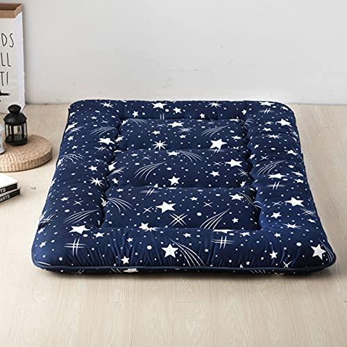 LCYZ Colchón de futón japonés para Dormir Plegable Impresión Estera,Almohadilla para Dormir para niños Adecuada para la Familia 39.37 * 78,7 in