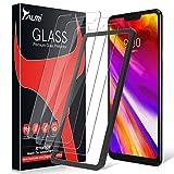 TAURI [3 Stück Schutzfolie für LG G7 / LG G7 ThinQ Panzerglas, [Alignment Frame] [Einfache Installation] [9H Festigkeit] [Anti-Kratzen/Öl/Bläschen] Panzerglasfolie HD Klar Glas Bildschirmschutzfolie