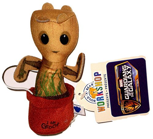 Build a Bear Potted Baby Groot Mini Plush Accessory for Stuffed Animals