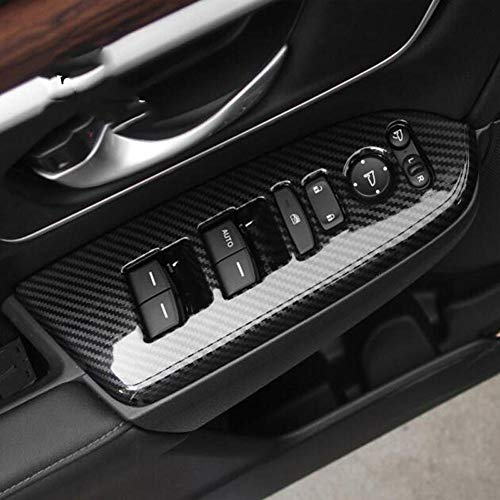 YINSHURE Autotür Fensterheber Knopf Glasschalter AbdeckungenZubehör, Für Honda CR-V CRV 2017 2018 2019 2020