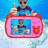 PowerLead Kids Digital Camera Self-Timer Camera Waterproof 2.7 inch Screen HD Video Action